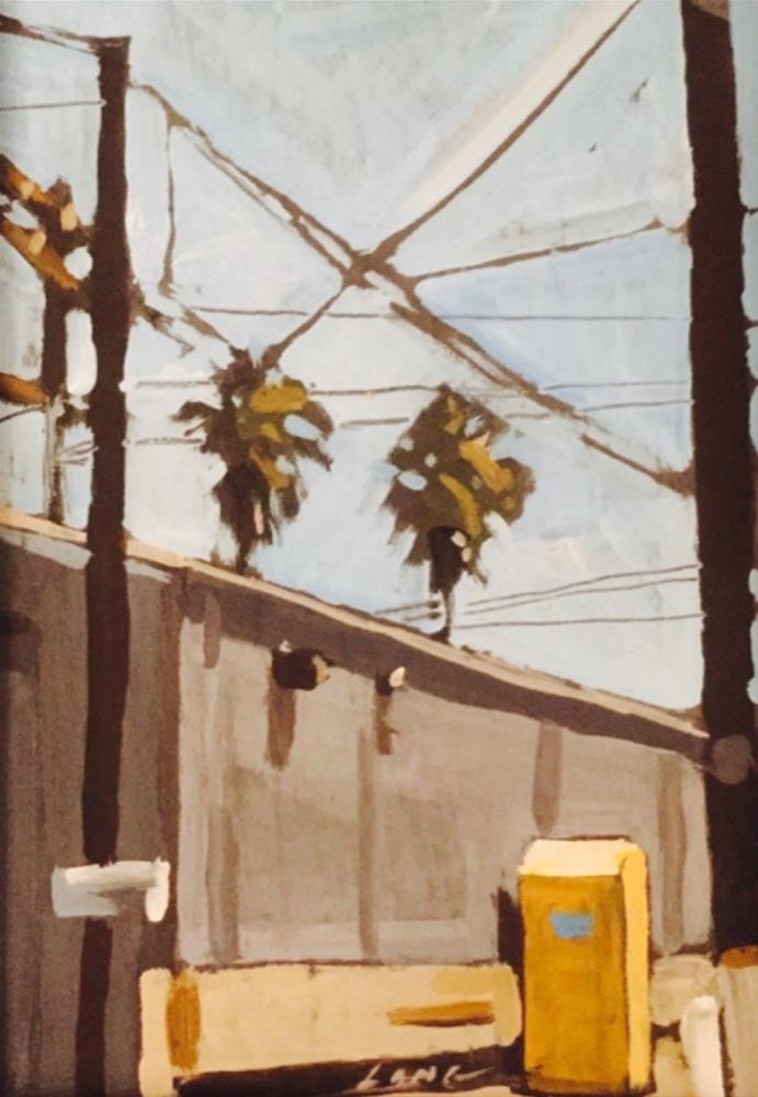 """Burbank"" original fine art by Chris Long"