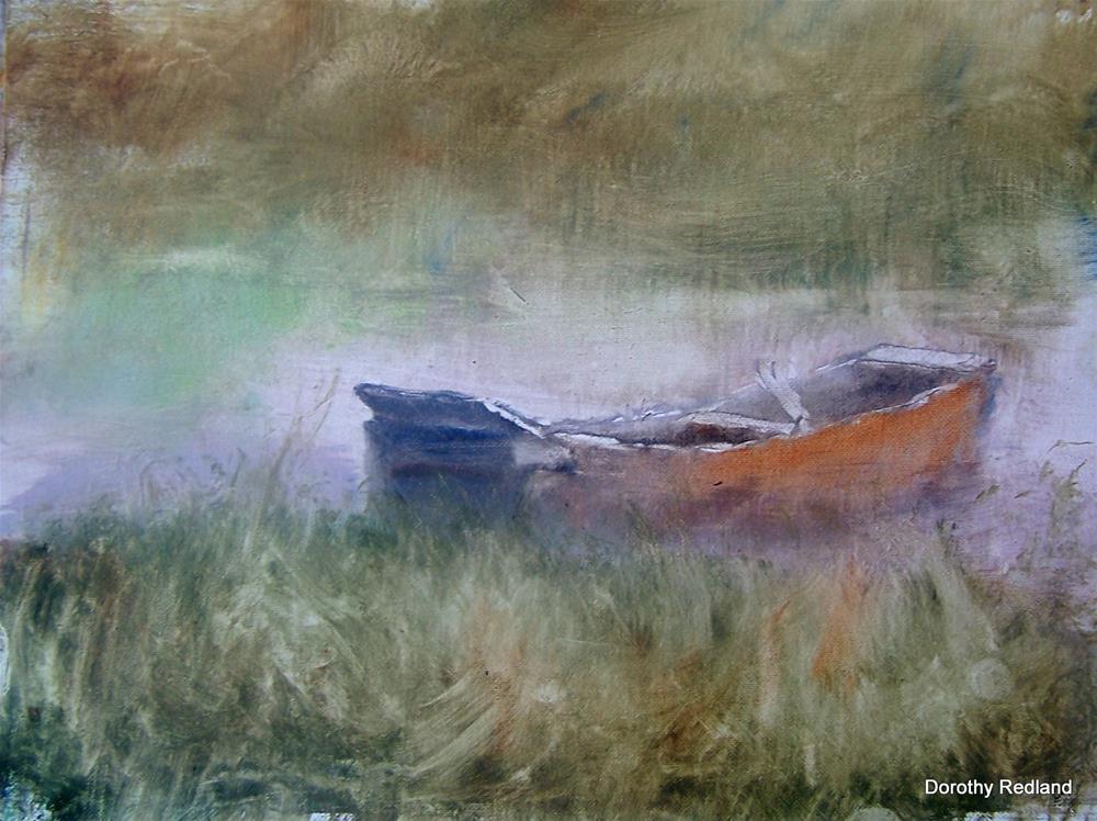 """Indoniesian boat"" original fine art by Dorothy Redland"