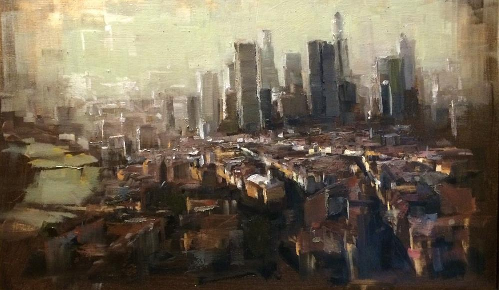 """Frankfurt Project 3"" original fine art by Thomas Ruckstuhl"