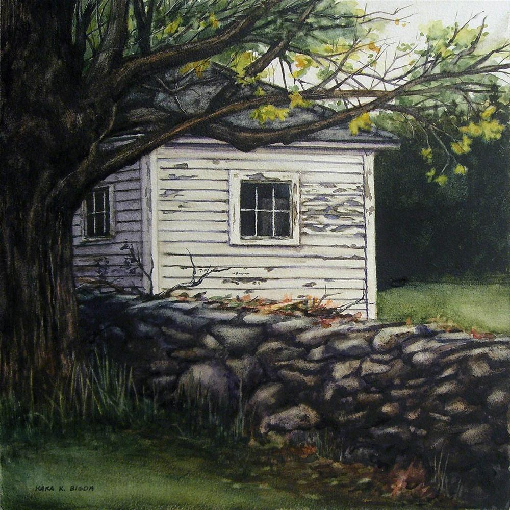 """Spring House"" original fine art by Kara K. Bigda"