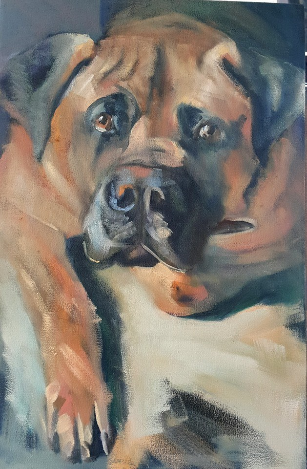 """Kuvut"" original fine art by Rentia Coetzee"
