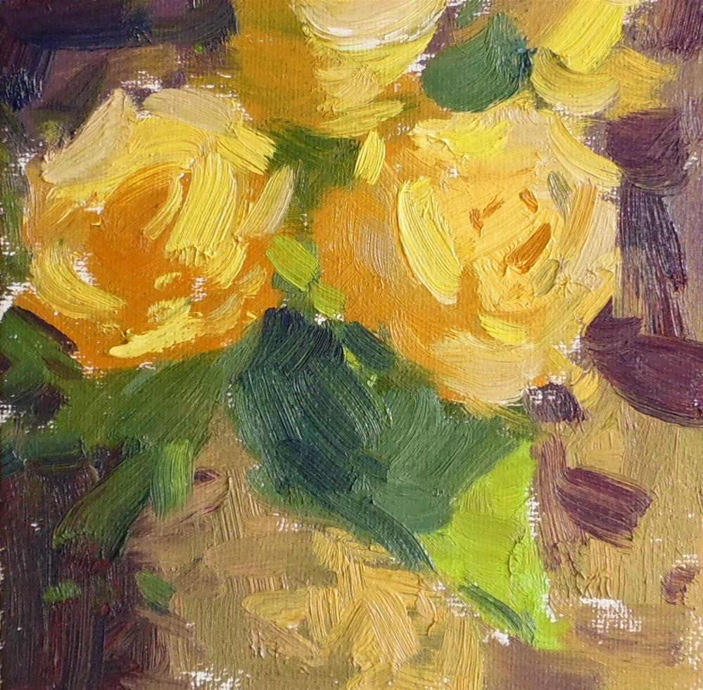 """Yellow Bunch "" original fine art by Michael Clark"