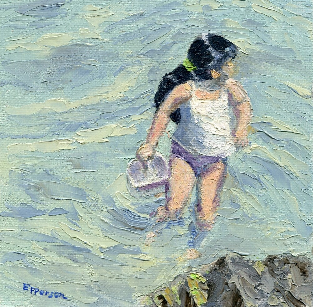 """Ondine's Adventure"" original fine art by Stanley Epperson"