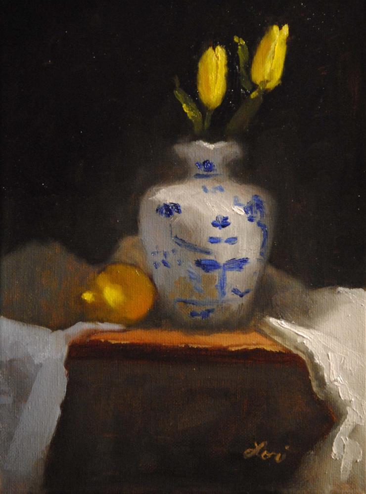 """Channeling Spring"" original fine art by Lori Jacobs - Farist"