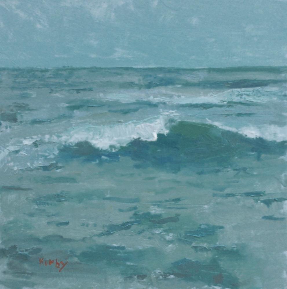 """Rainy Day"" original fine art by Randall Cogburn"
