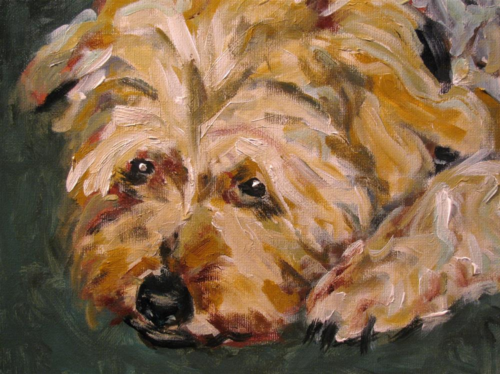 """Bella"" original fine art by Susan Elizabeth Jones"