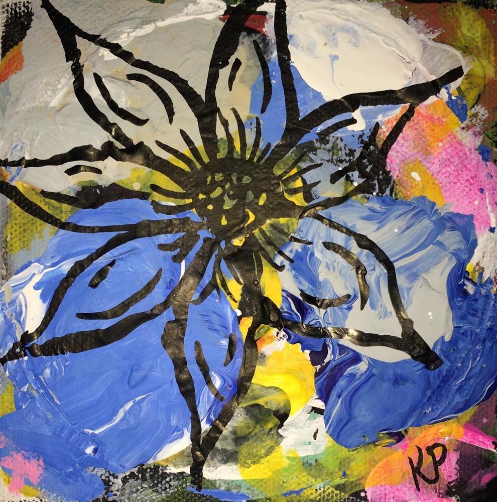 """""""Floral Palette"""" original fine art by Kali Parsons"""