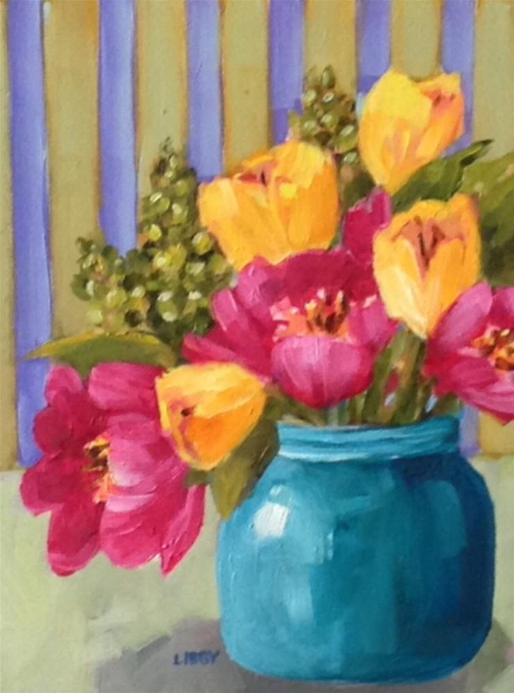 """Paris in Springtime"" original fine art by Libby Anderson"