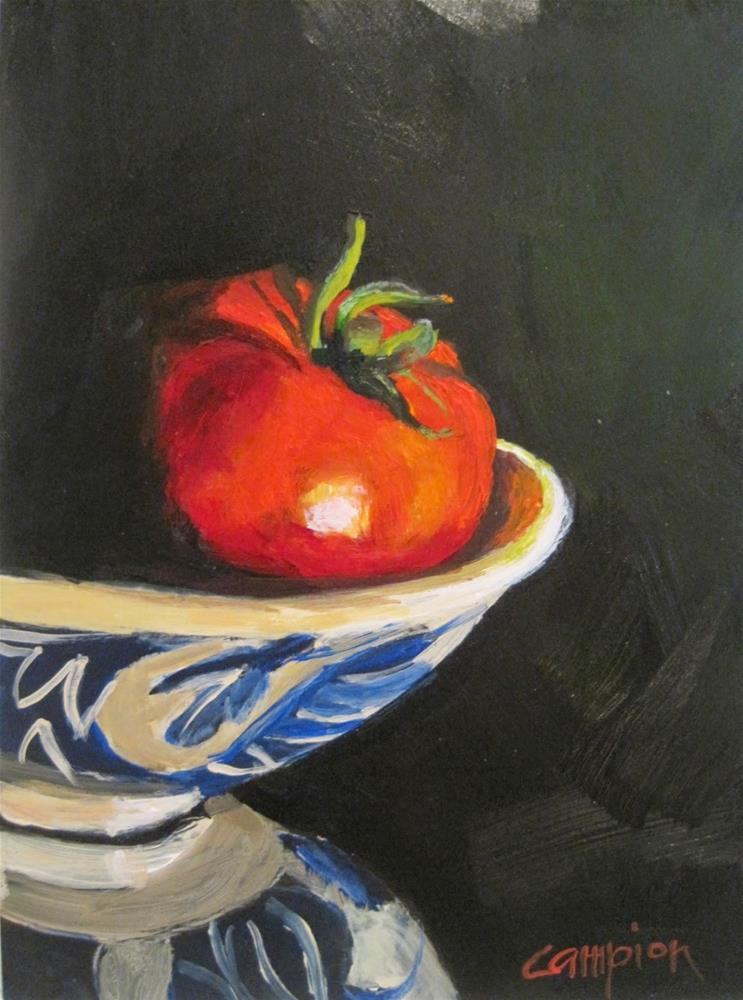 """415 Locally Grown and Perfect"" original fine art by Diane Campion"
