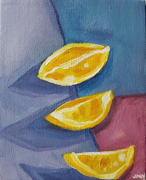 """Soft Colours and Long Shadows"" original fine art by J M Needham"