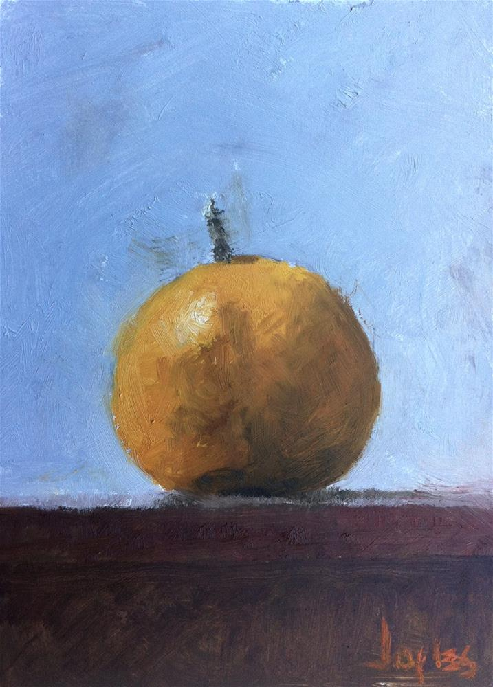 """Orange"" original fine art by Richard Jones"