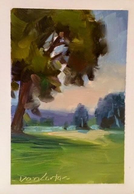 """PATHWAY"" original fine art by Doug Carter"