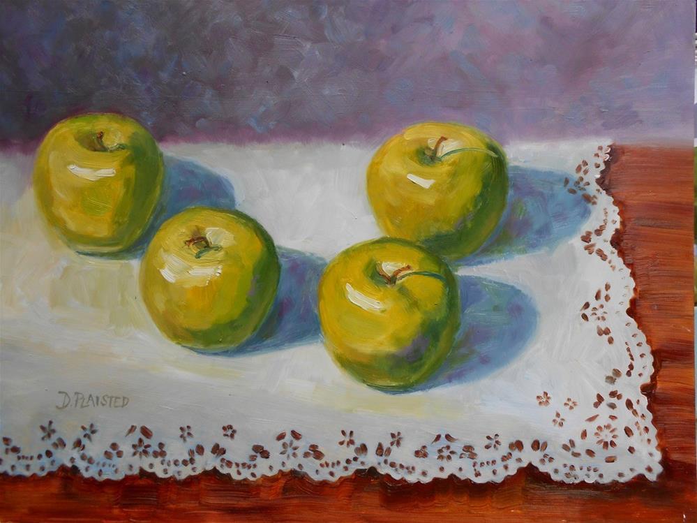 """Granny's Lace"" original fine art by Diane Plaisted"