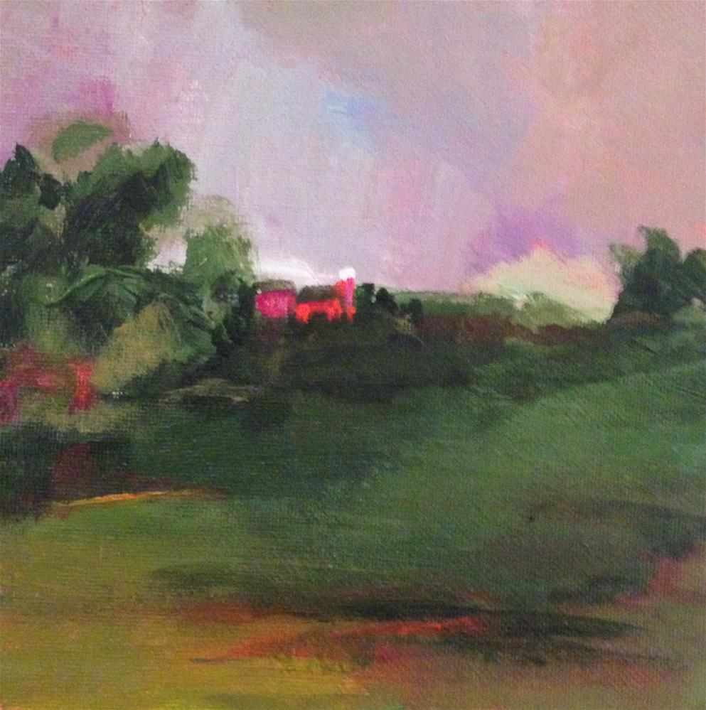 """Homestead"" original fine art by Molly Wright"