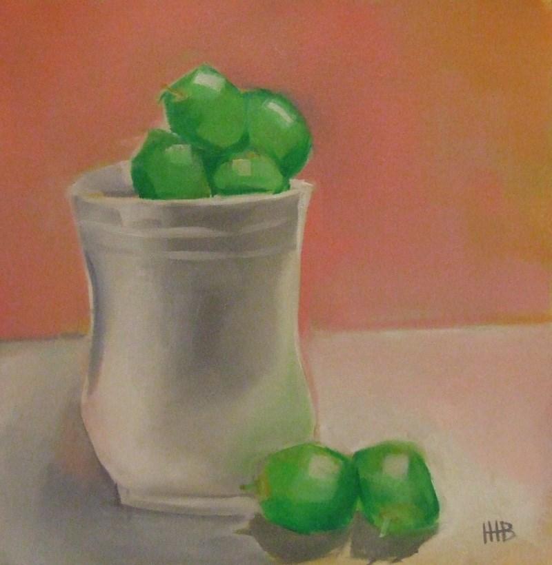 """1 $ Wednesday"" original fine art by Heather Bennett"
