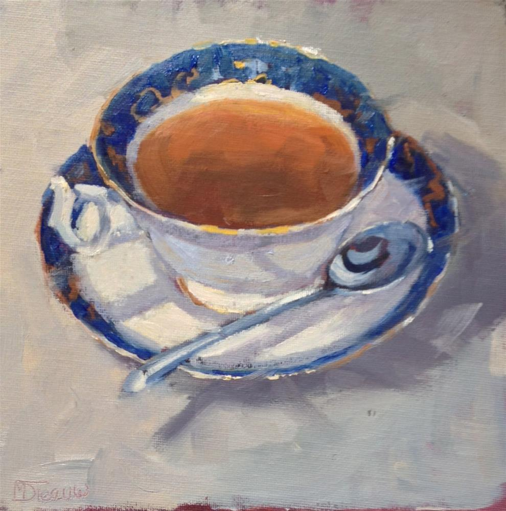 """China Cup"" original fine art by Mo Teeuw"