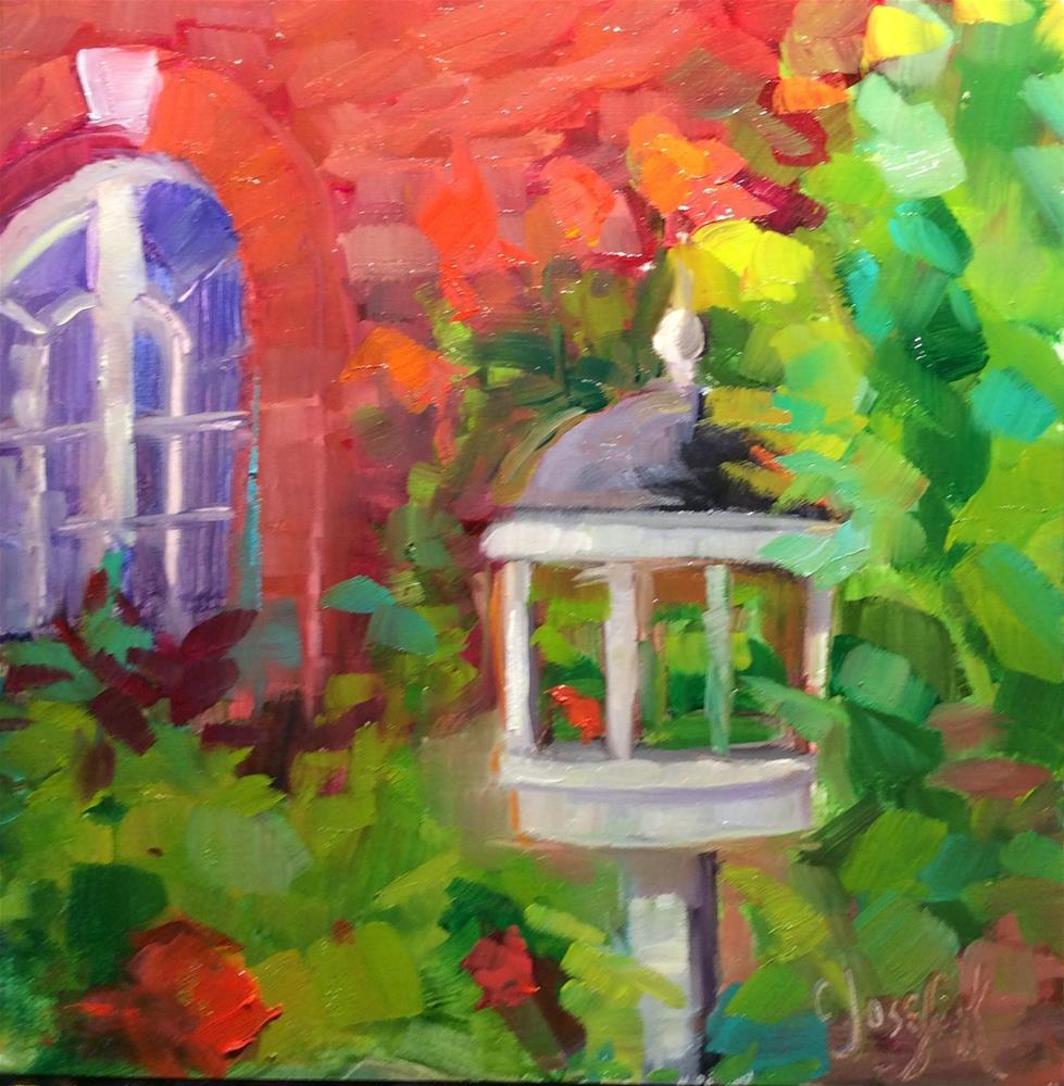 """""""A Place for the Birds"""" original fine art by Carol Josefiak"""