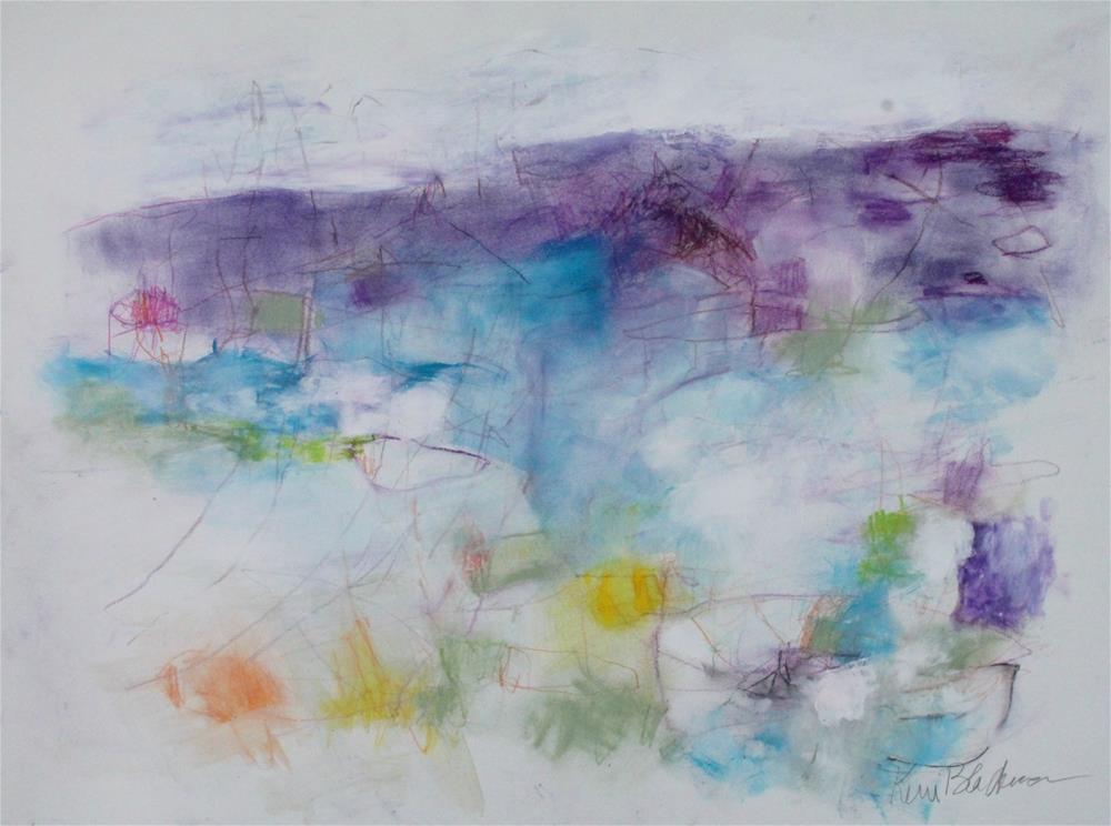"""Embark"" original fine art by Kerri Blackman"