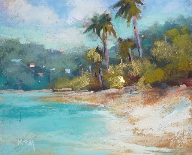 """How to Practice Art and the Art of Relaxation"" original fine art by Karen Margulis"