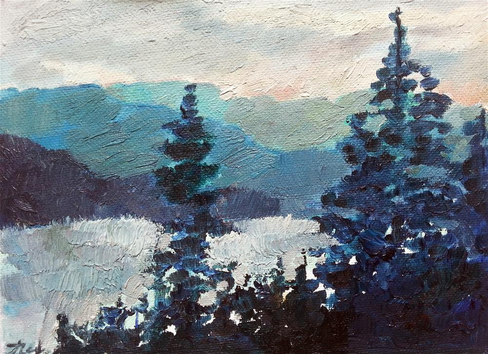"""Leadville, Colorado"" original fine art by Nava Judith"