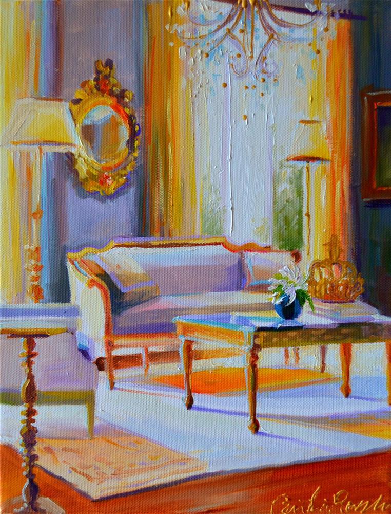 """FRANSE SITKAMER"" original fine art by Cecilia Rosslee"