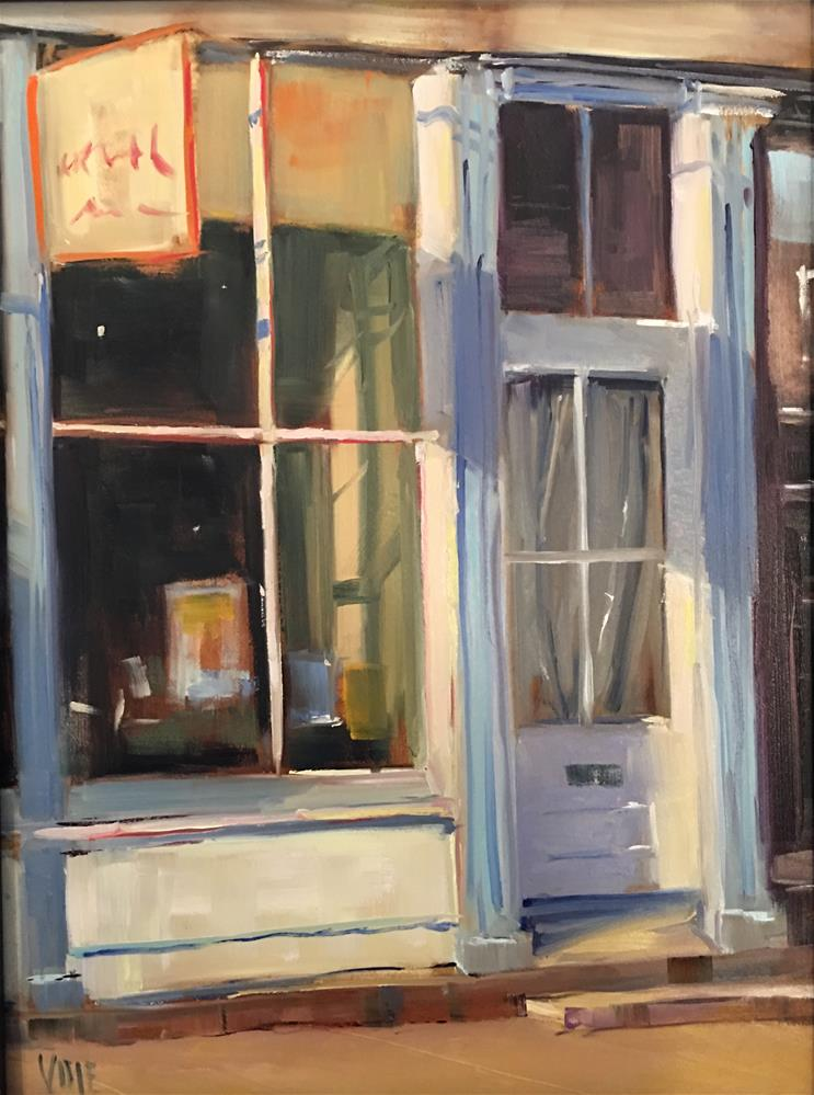 """Closing Time"" original fine art by Patty Voje"