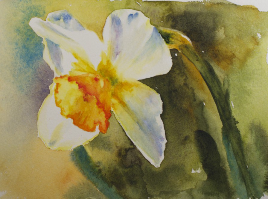 """Spring Sunshine"" original fine art by Sue Churchgrant"
