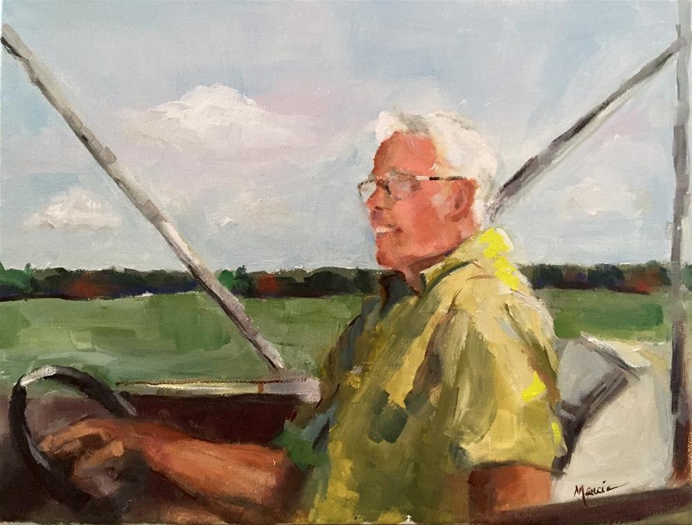 """Lovin' Life"" original fine art by Marcia Hodges"