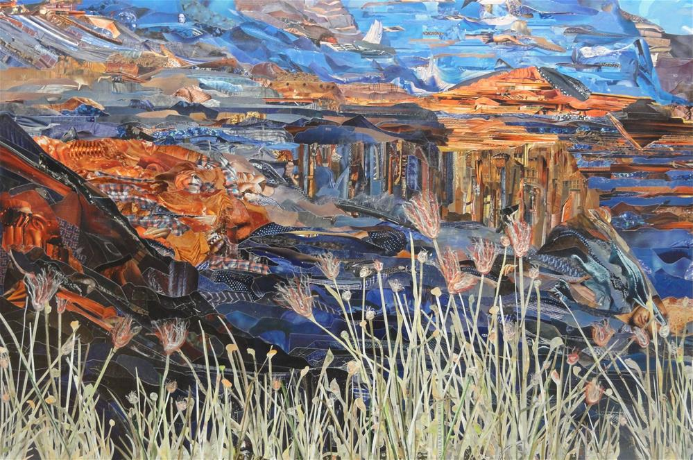 """Along the South Rim"" original fine art by Cynthia Frigon"