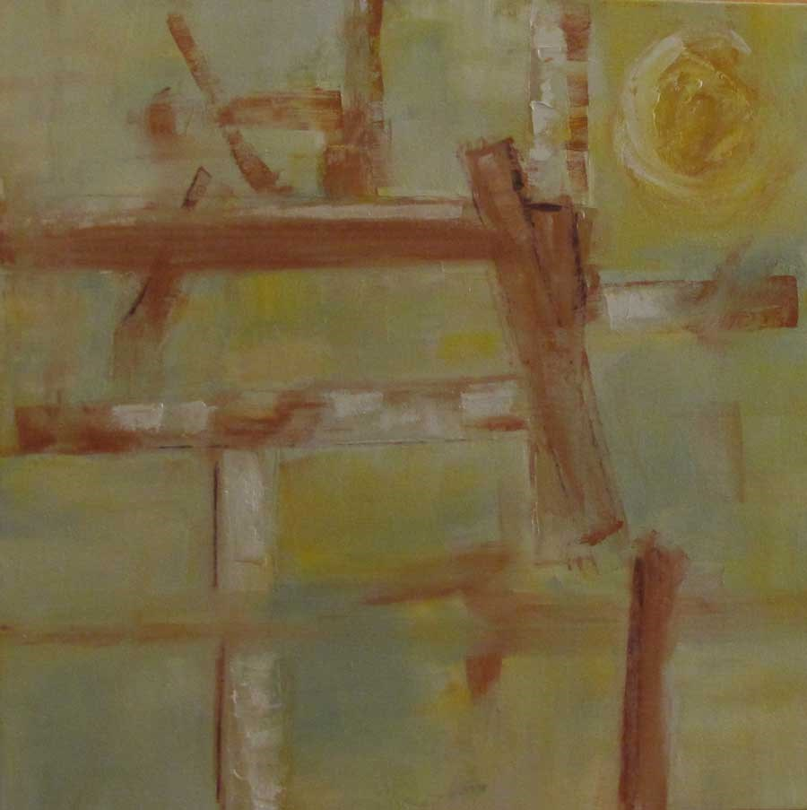 """""""Fences"""" original fine art by Helen Moreda"""