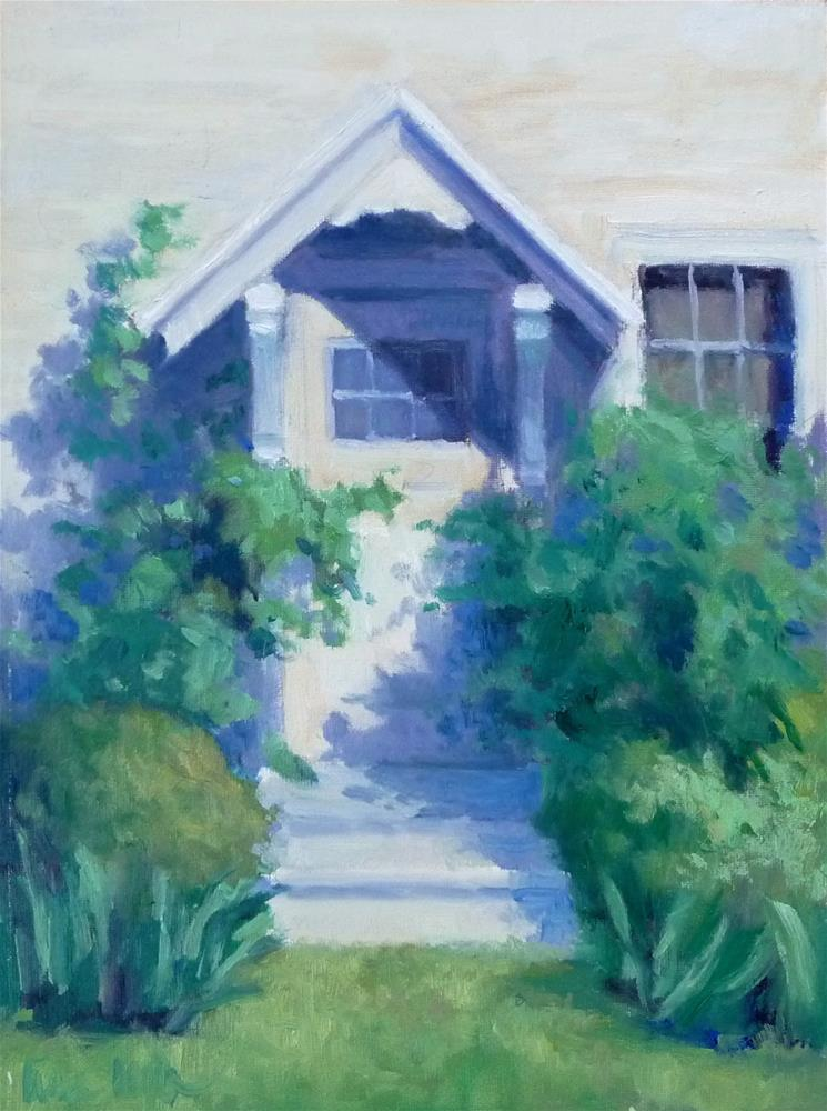 """Side Door"" original fine art by Lisa Kyle"