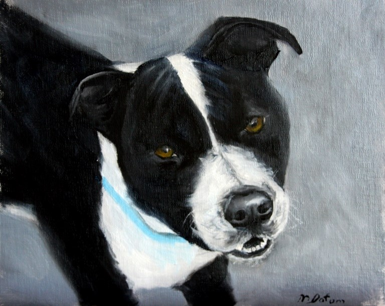 """Neo"" original fine art by Mary Datum"