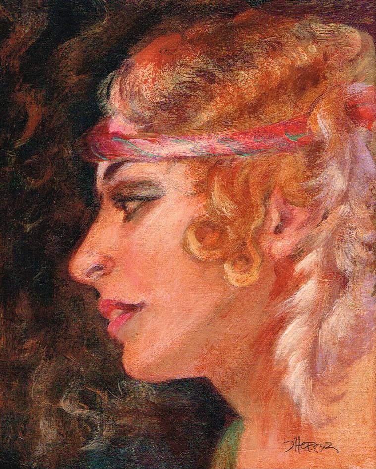"""Flapper - Theresa Taylor Bayer"" original fine art by Theresa Taylor Bayer"