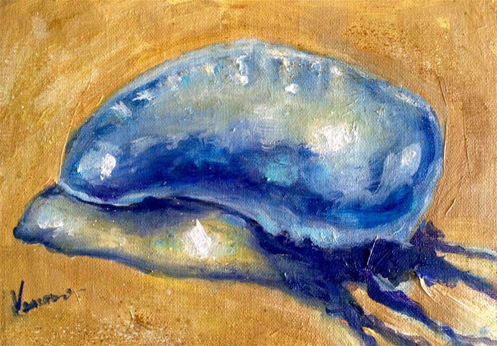 """Man o War"" original fine art by Valerie Vescovi"