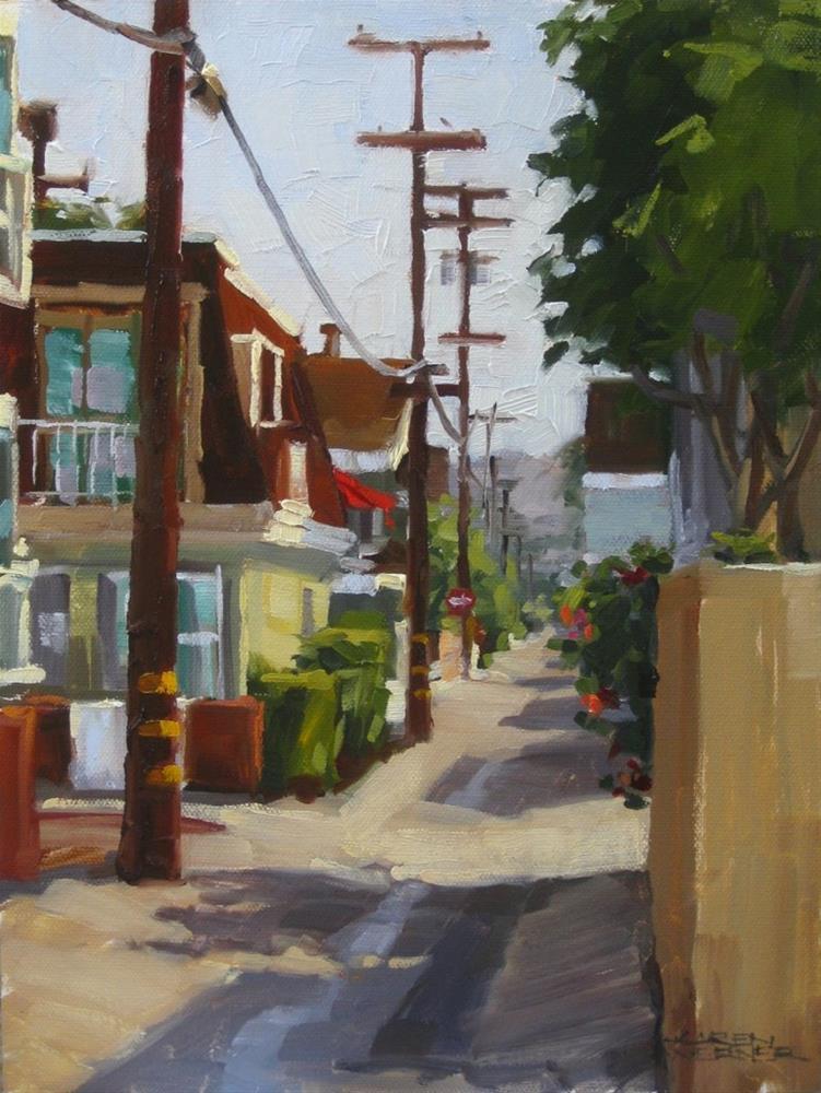 """""""Island Charm"""" original fine art by Karen Werner"""