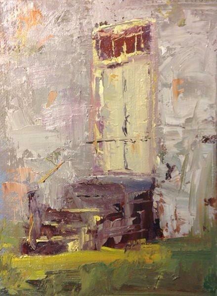 """""""Shaker Door"""" original fine art by Fine Art of René"""