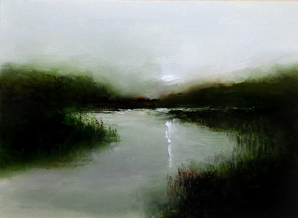 """Shallow River 2"" original fine art by Bob Kimball"