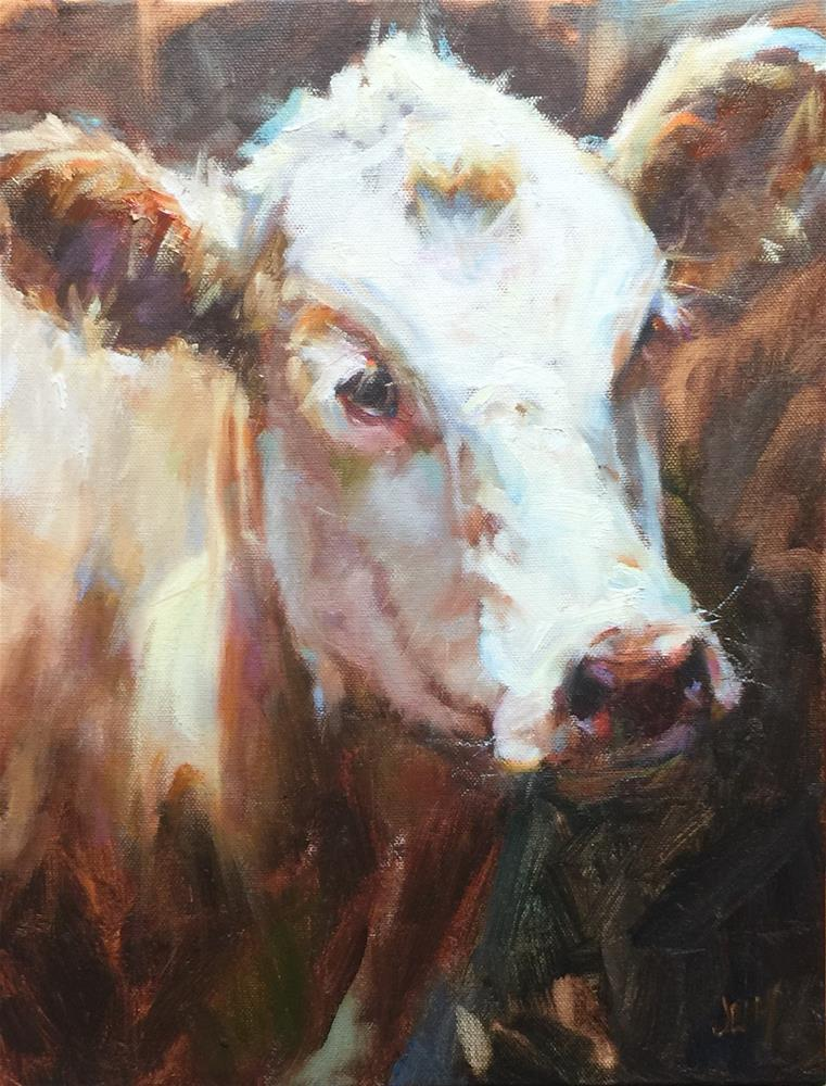 """Maribell"" original fine art by Jenny Buckner"