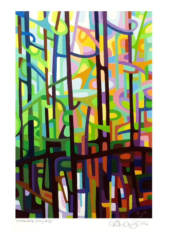 """Landscape Study #61"" original fine art by Mandy Budan"
