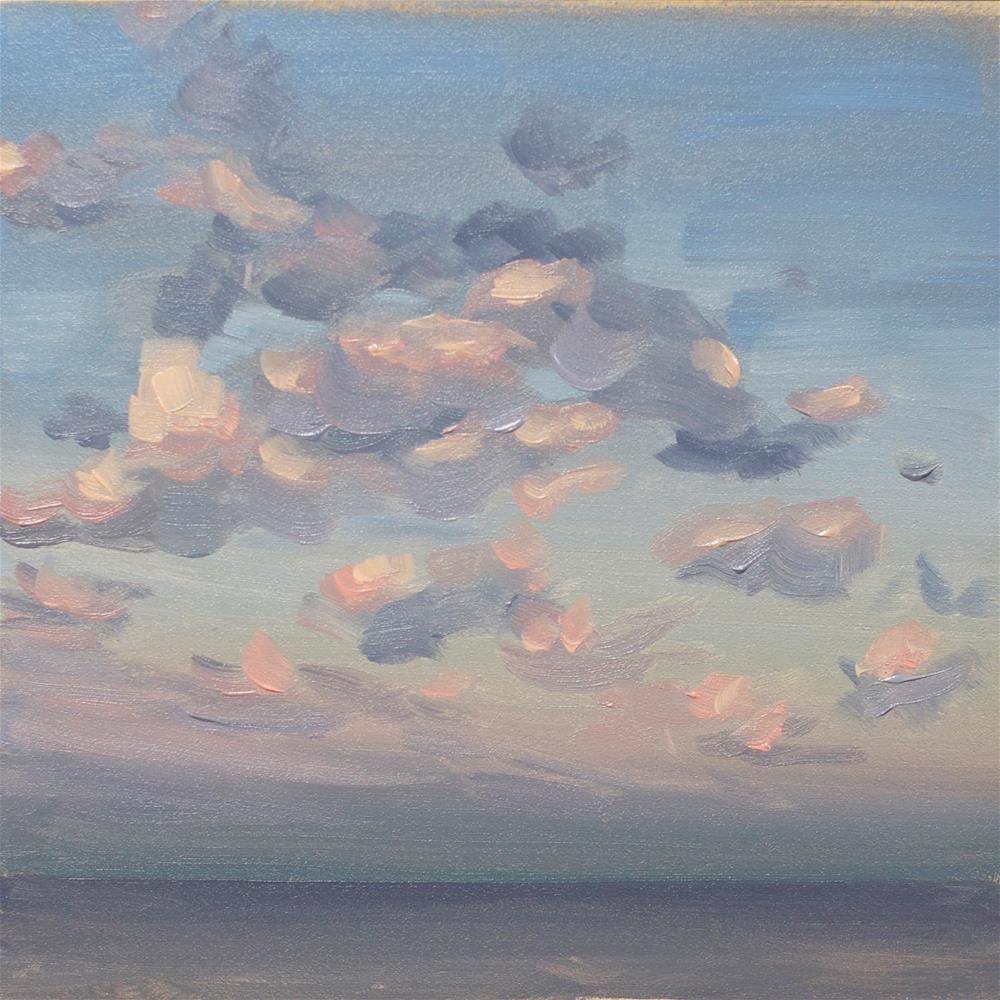 """Cloud Study"" original fine art by Heather Bullach"
