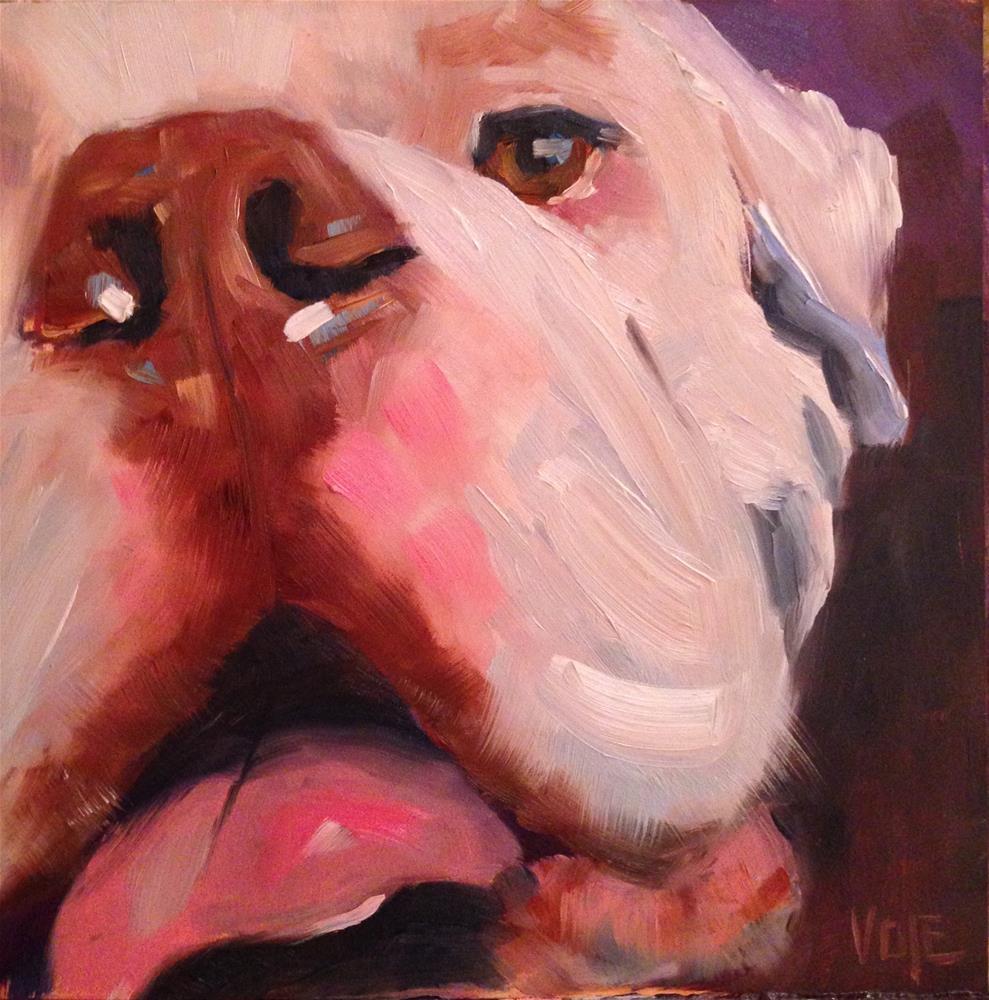 """#55 Bust A Move"" original fine art by Patty Voje"