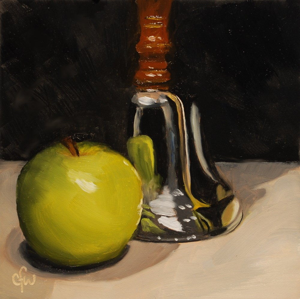"""The Teacher's Bell"" original fine art by Gary Westlake"