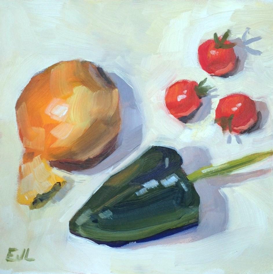 """Garden of Eatin'"" original fine art by Eric Larson"