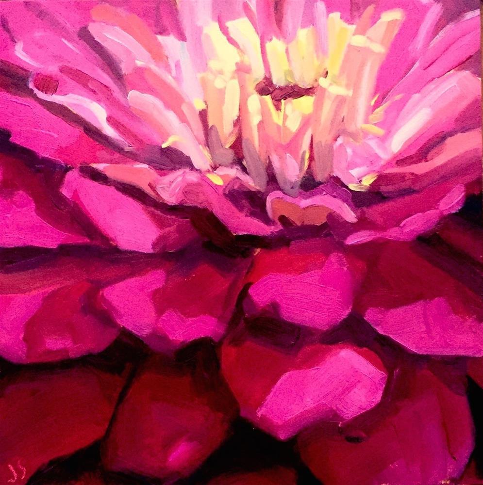 """""""Fun Flower Challenge"""" original fine art by Jamie Stevens"""