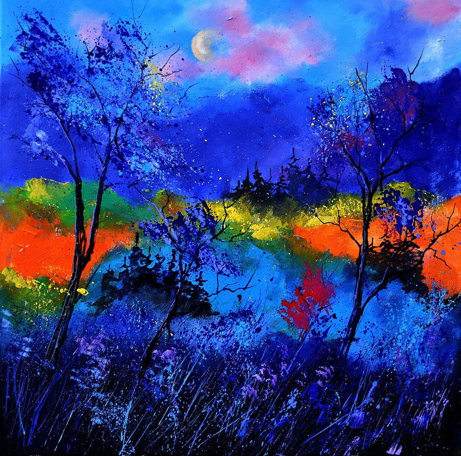 """Magic wood"" original fine art by Pol Ledent"