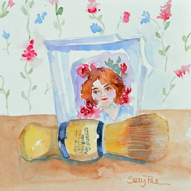 """Antique Mug"" original fine art by Suzy 'Pal' Powell"