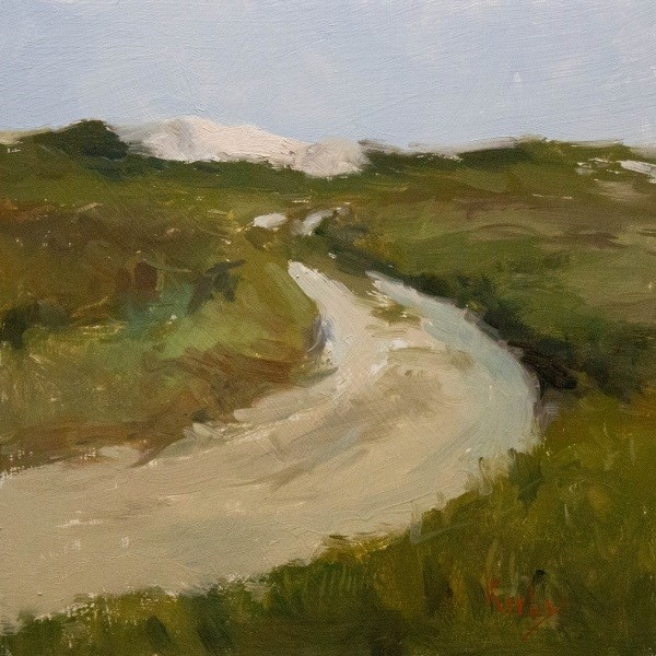 """Sandy Road"" original fine art by Randall Cogburn"