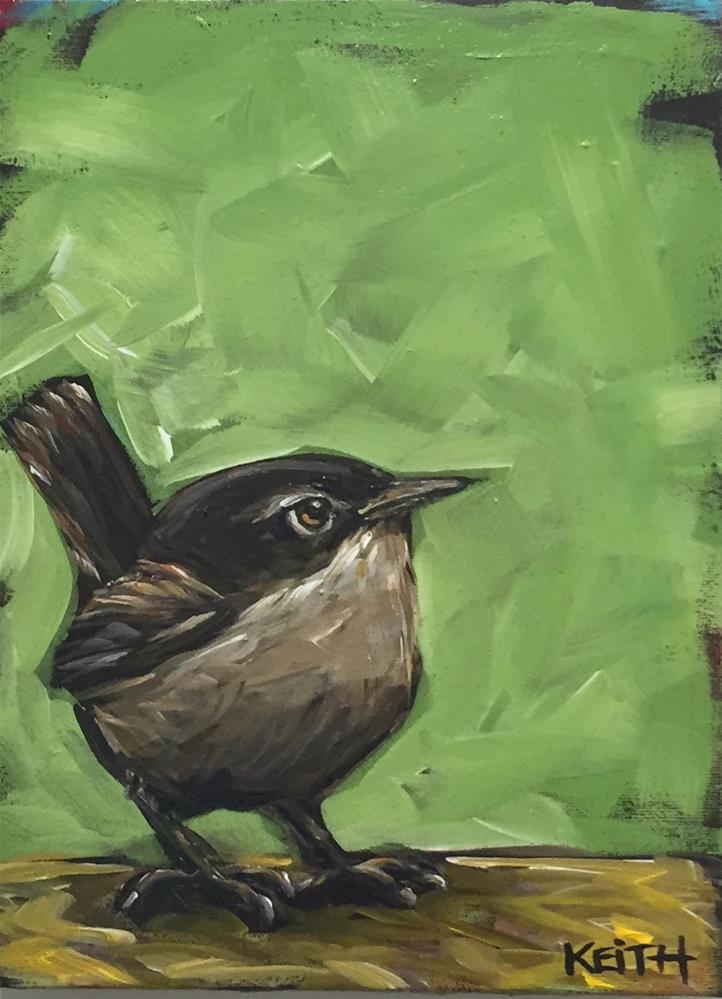 """Lucien"" original fine art by Kandice Keith"