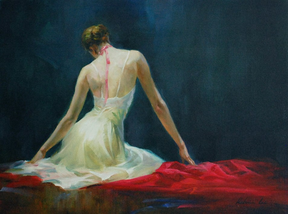 """Ballerina (17)"" original fine art by Kelvin Lei"