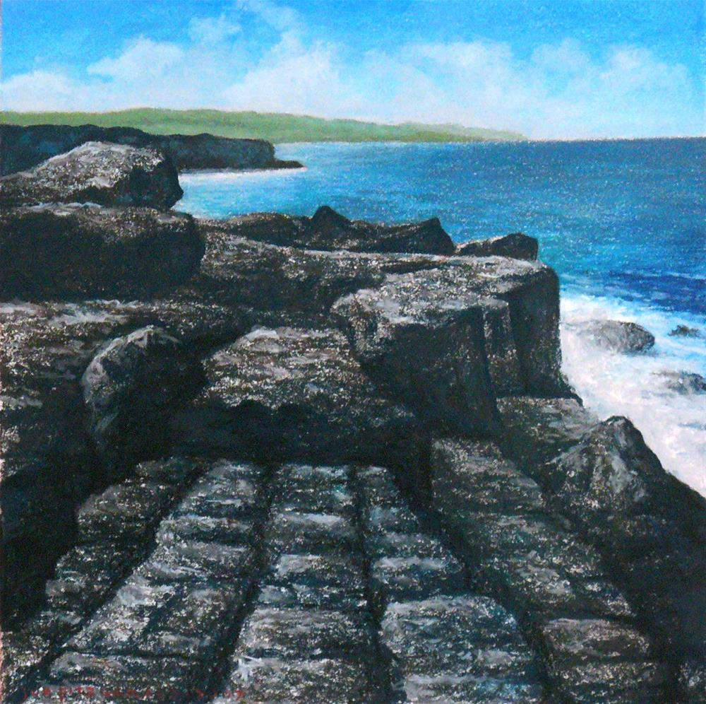 """The Burren"" original fine art by Joe Fitzgerald"